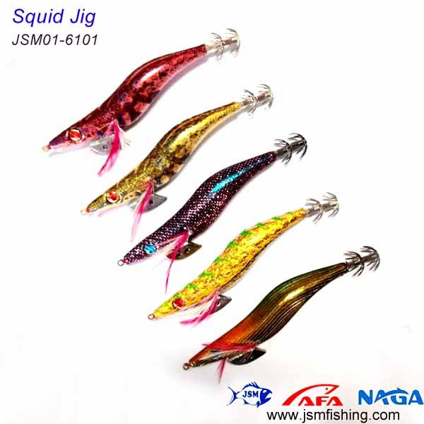 china manufacturer supply fishing tackle daiwa squid jigs