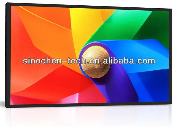 72 inch high brightness outdoor LCD for advertising lcd panel