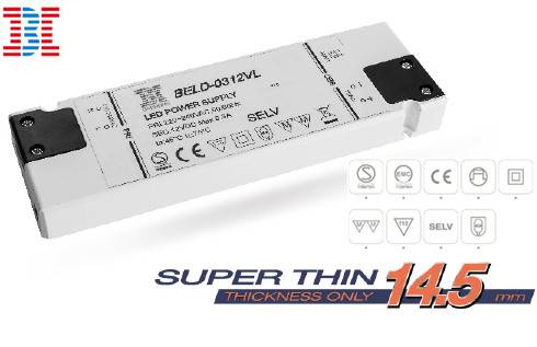 IP20 CV Version Super Thin LED Power Supply / LED driver