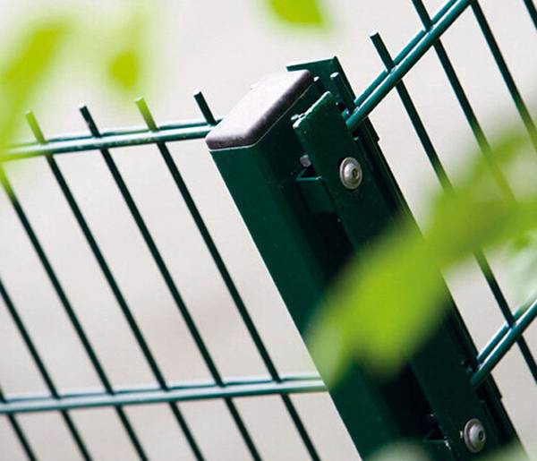 Powder Coated 656mm 868mm Double Wire Mesh Fence