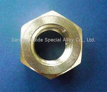 Nickel 200 UNS N02200 Hex Nuts