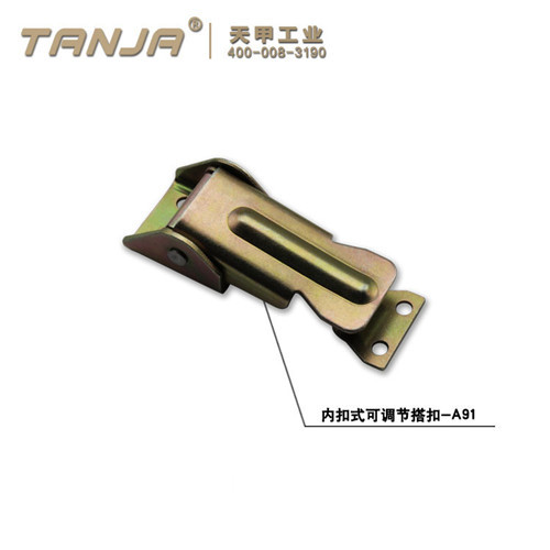 TANJA A91 zinc plated concealed toggle latch / SPCC adjustable handle latch for farm equipment