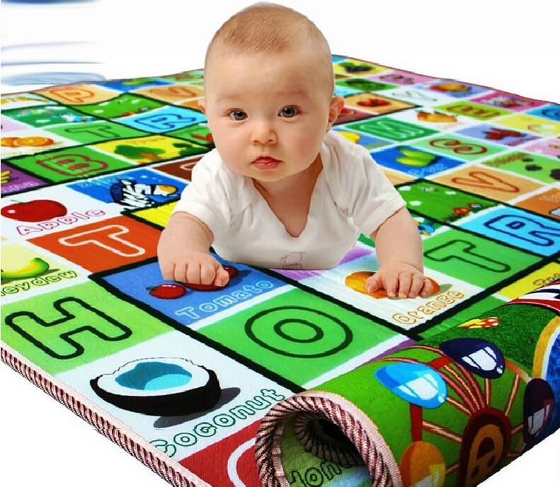 Soft Plastic Baby Crawling Mats Waterproof