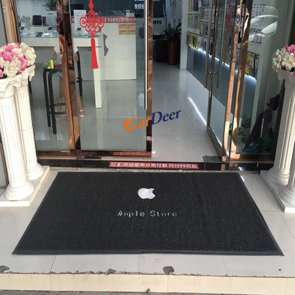 Good quality gray 2x1m PVC carpet for apple store