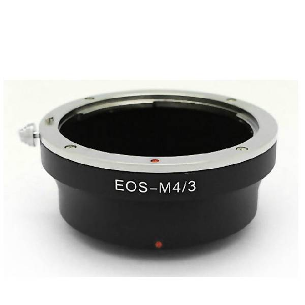 EOS-M4/3 camera adapter ring EOS lens to mount on Marco 4/3 camera body