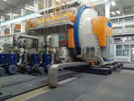 Horizontal Vacuum Carbonization Furnace