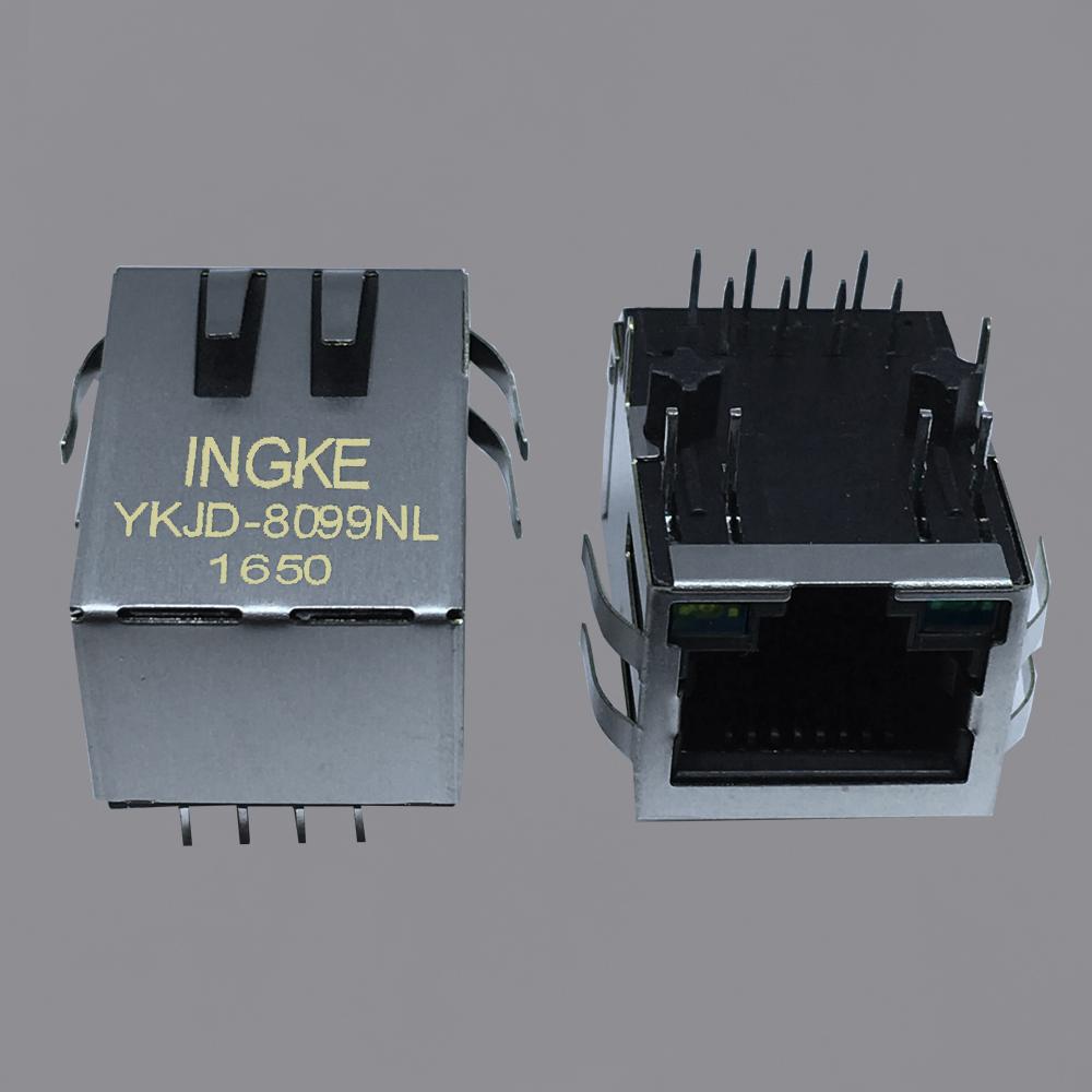 HFJ11-2450E-L12RL Halo 10/100 Base-T RJ45 modular jack
