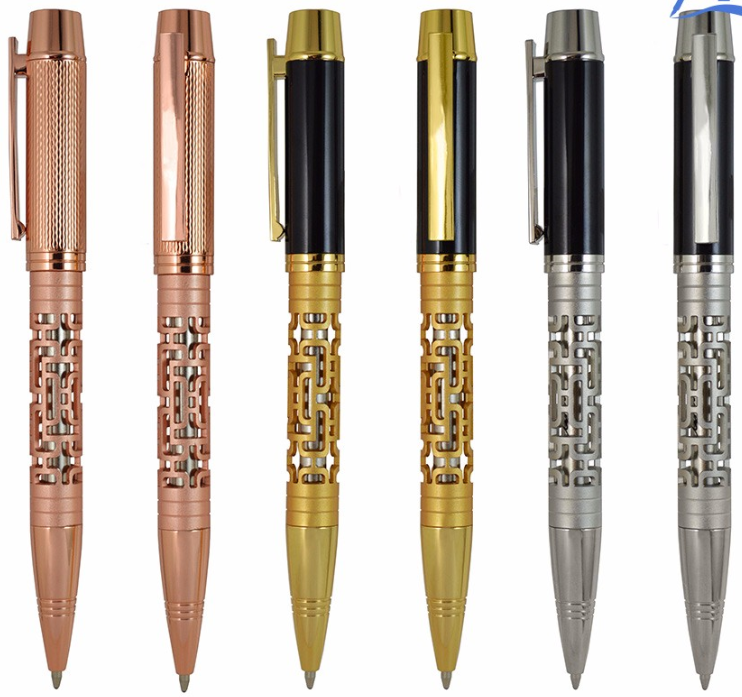 New luxury gift promotion advertising ballpoint pen personalized metal pens with custom logo