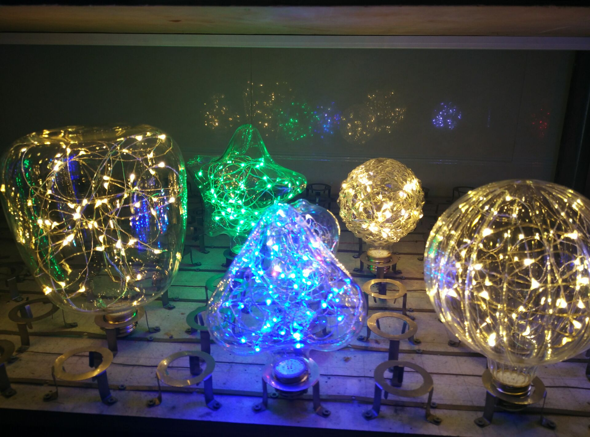 Colorfull led decoration bulb for home party