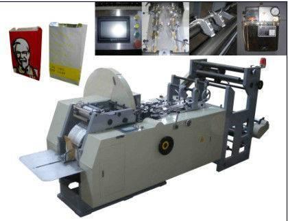 chicken paper bag making machine