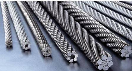 STEEL WIRES, WIRE ROPES AND WIRE STRANDS