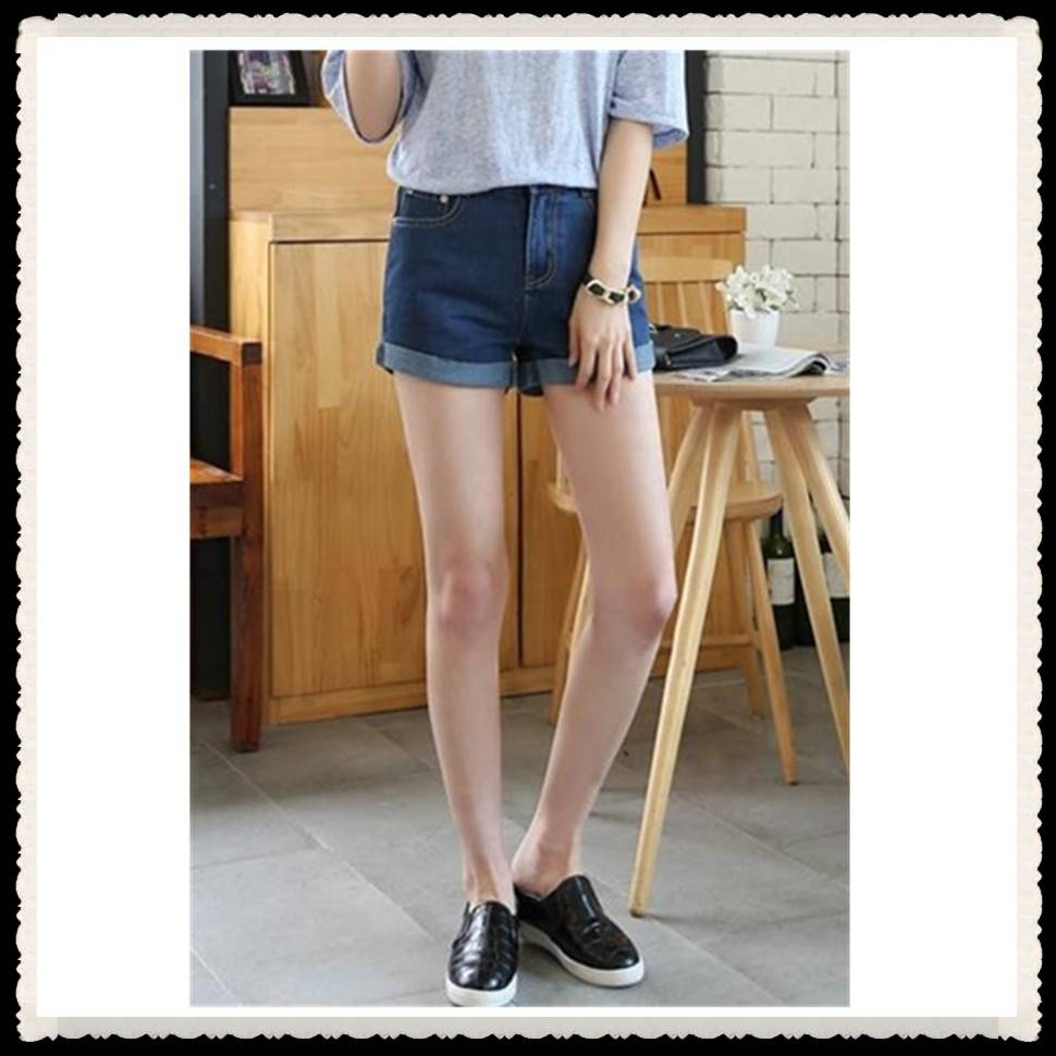 New fashion design denim shorts for women