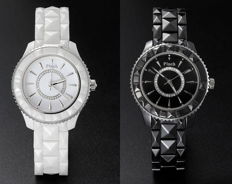 Fashion Cerami with Diamond Watch
