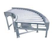 90 degree roller conveyor