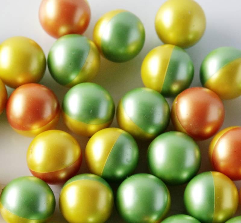 2000pcs/box .68 caliber paintballs with food coloring