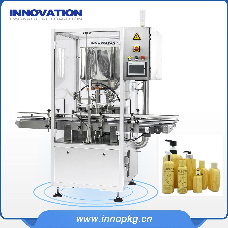 Automatic lotion round bottle filling machine