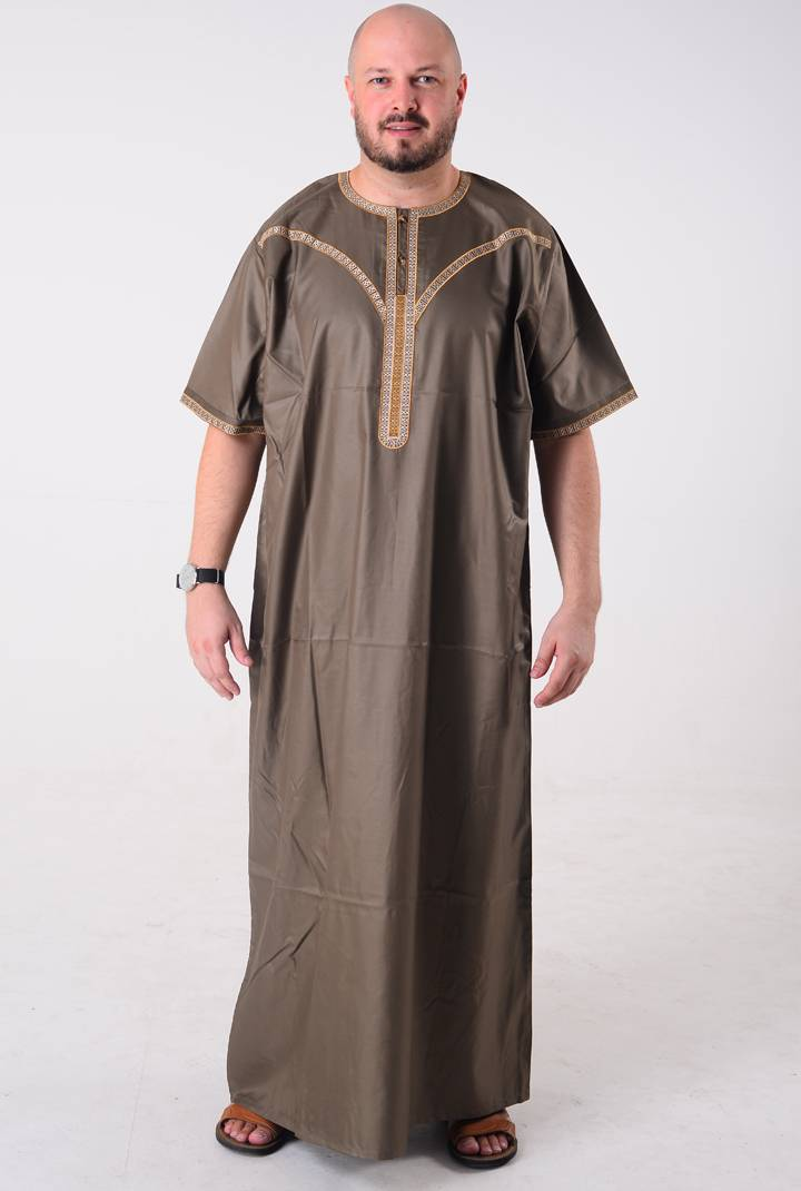 Moroccan Thobe and Pants for Men