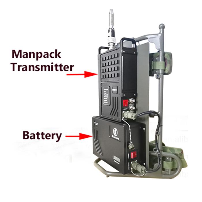 wireless audio intercom voice transmission device manpack video transmitter