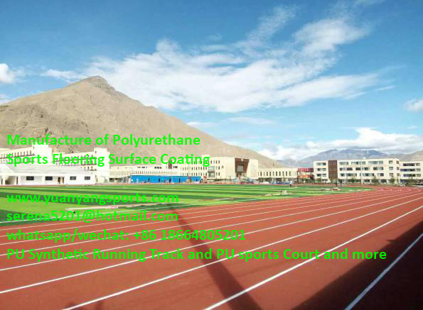 Popular Sandwich System Stadium Running Track Construction