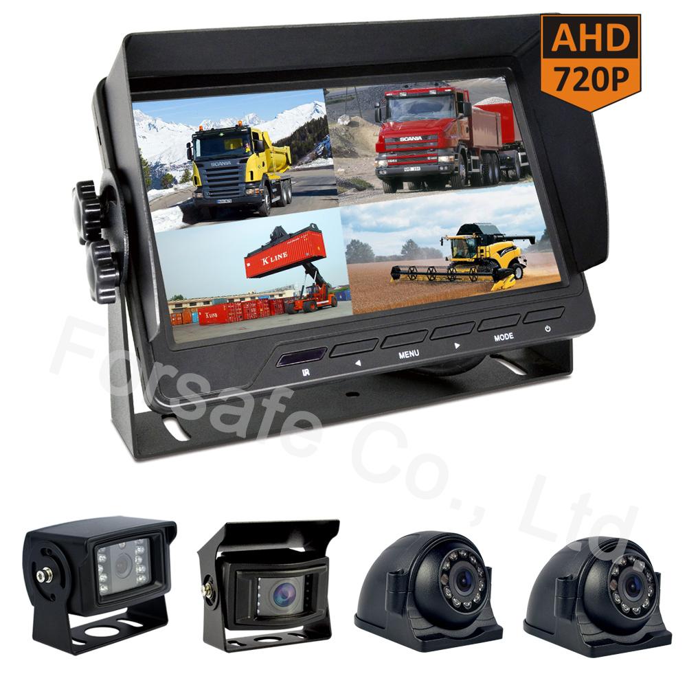 "OEM/ODM 7"" Heavy Duty Standalone Rear View Monitor Camera System"
