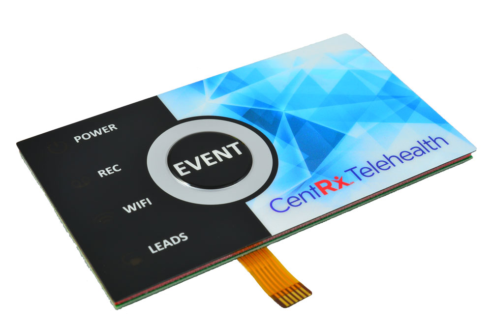 capacitive touch graphic overlay membrane switch