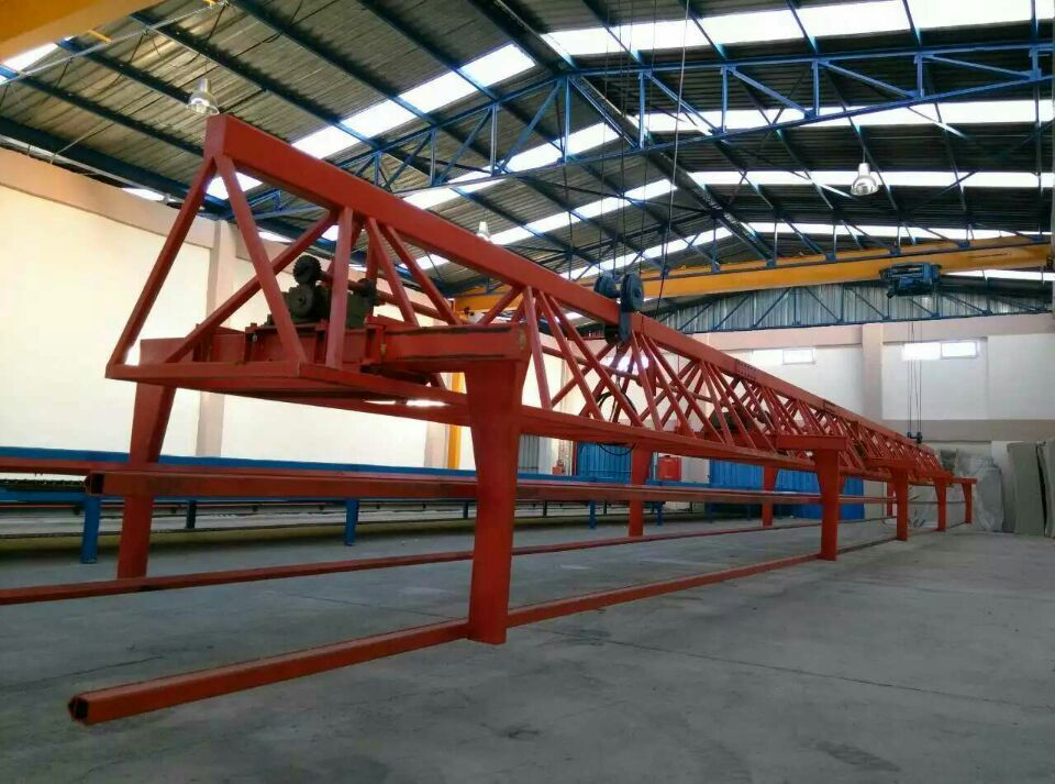 Foam Crane Unit for continous foam machine