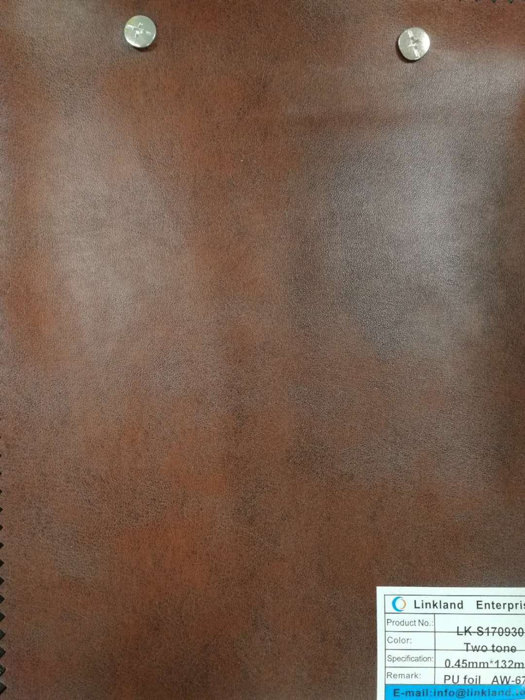 HIGH QUALITY POPULAR PU FOIL FOR LEATHER
