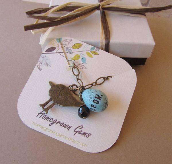 Custom printed jewelry hang tags