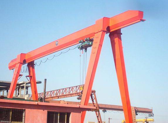 MH Model Single Grider Container Gantry Crane