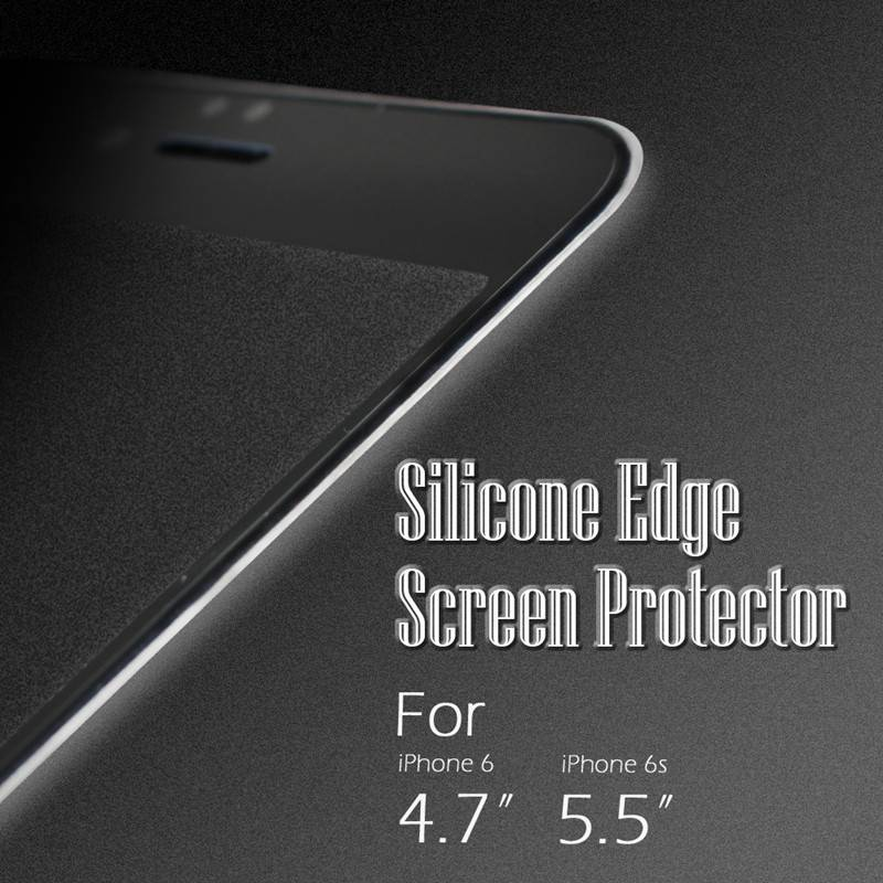 Factory wholesale price 3d tempered glass screen protector 99%transparent for iphone 6