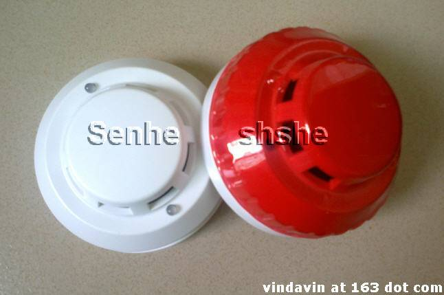 2wired& 4wired network Potoelectric smoke detector alarm with realy output