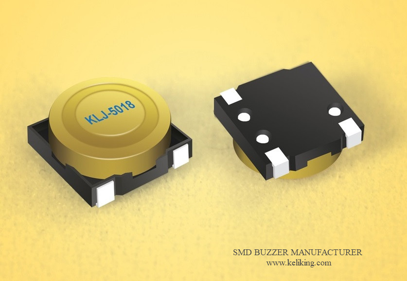 L5.0mmW5.0mmH1.8mm Micro Small SMD Buzzer Magnetic Buzzer Surface Mounted Buzzer KLJ-5018
