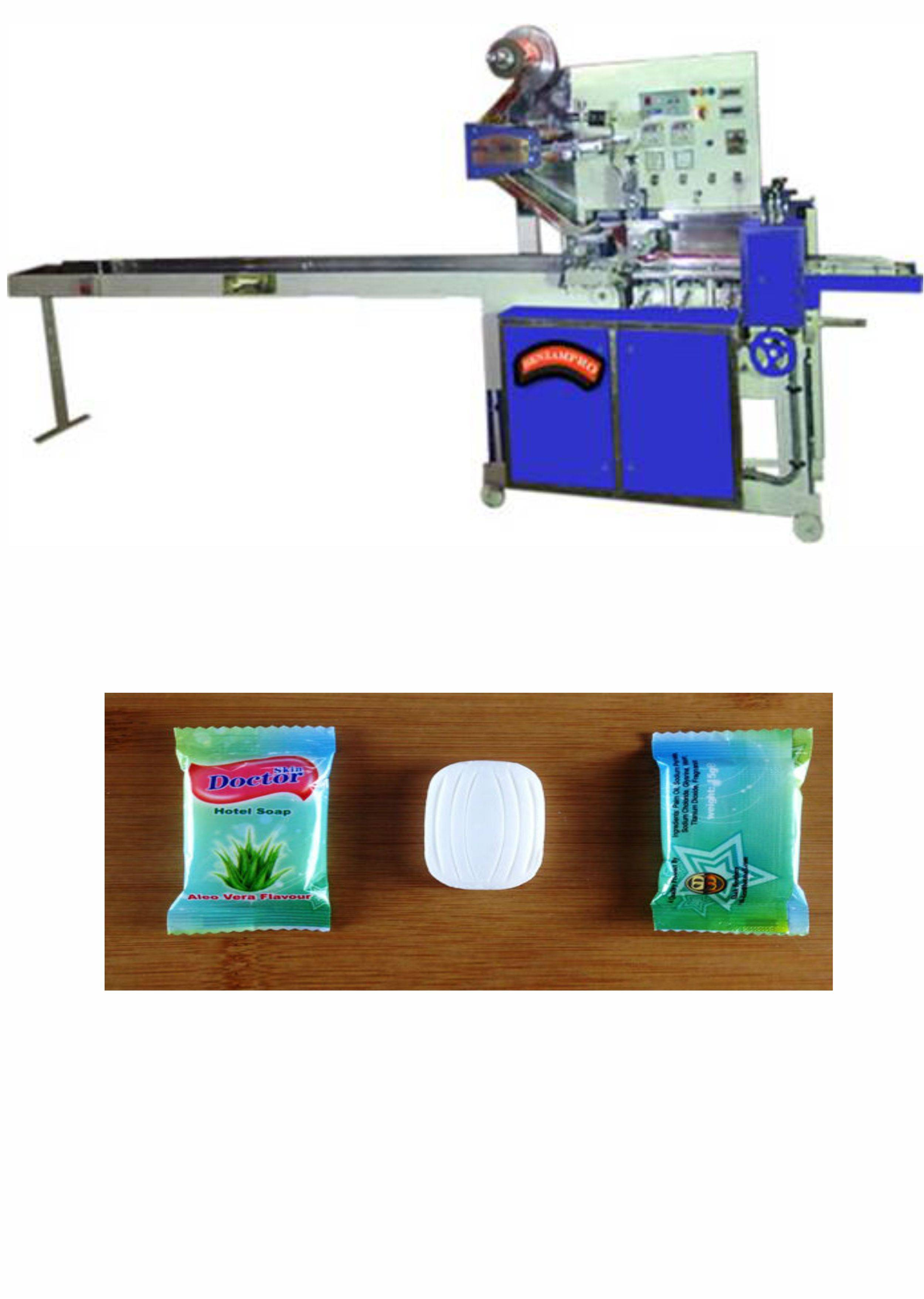 Multiple Soap Wrapping Machine