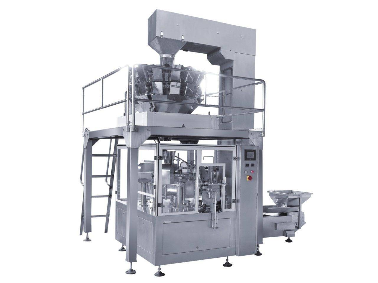 premade pouch/doypack granule packing machine