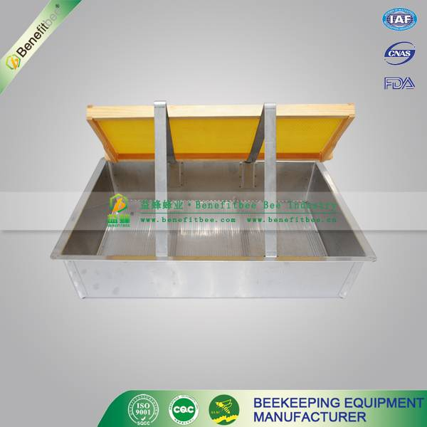 newly model honeycomb Uncapping tray for beekeeper