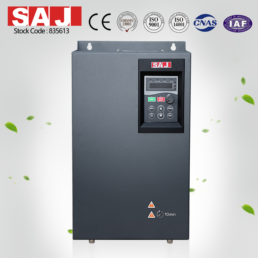 SAJ Frequency inverter variable speed drive inverter current vector inverter 0.75KW-400KW