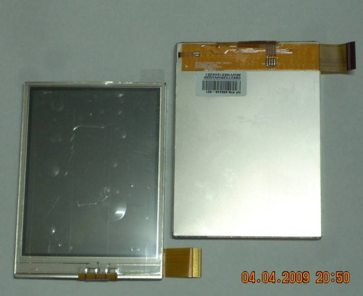 LH350Q31-FD01 for hp ipaq 110 112 114 111 116 118 lcd screen display+touch screen digitizer lens