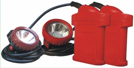 Explosion-proof lighting  of KL4LM(A) miner's cap lamp