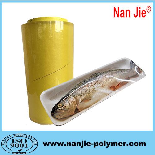 Nan Jie pvc food grade wrap film rolls manufacturers