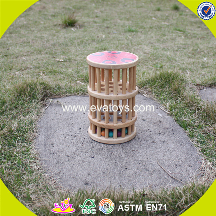 2017 new fashion funny children wooden skittles game W01A161