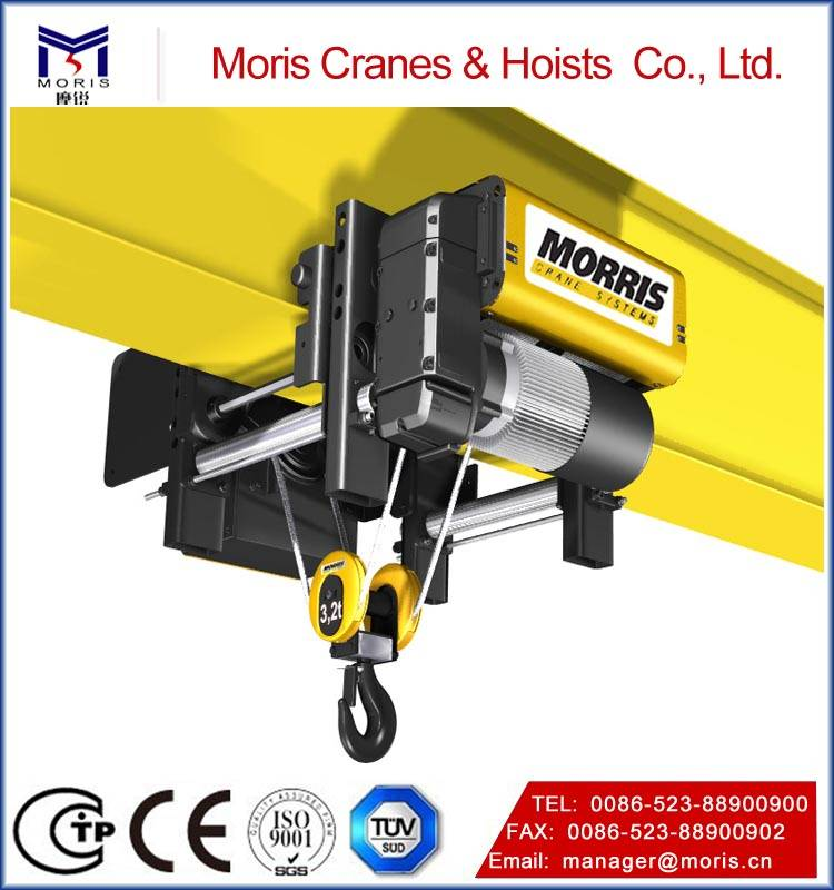 Euro-type moderate prices Morris wire rope hoist