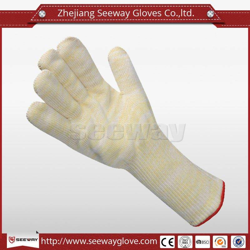 SeeWay M400 Long Length Aramid Heat Resistant Glove with Cut Protection