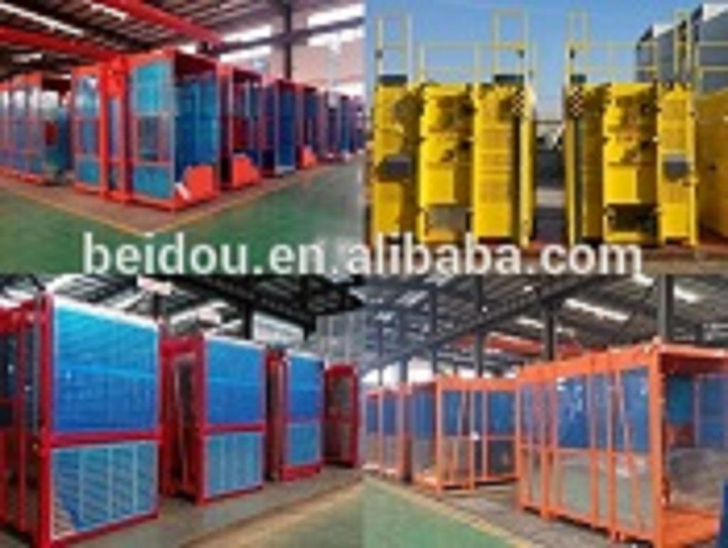 CE Approved Construction passenger and material hoist building hoist supplier