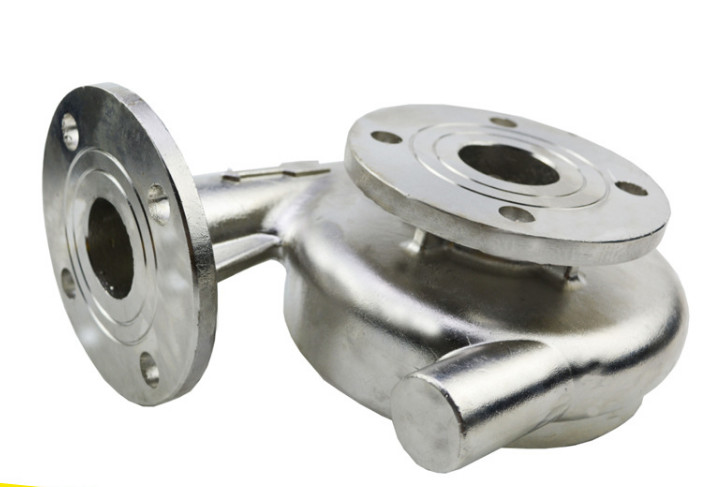 China customize pump precision casting part for machinery metal inner parts factory hot sales