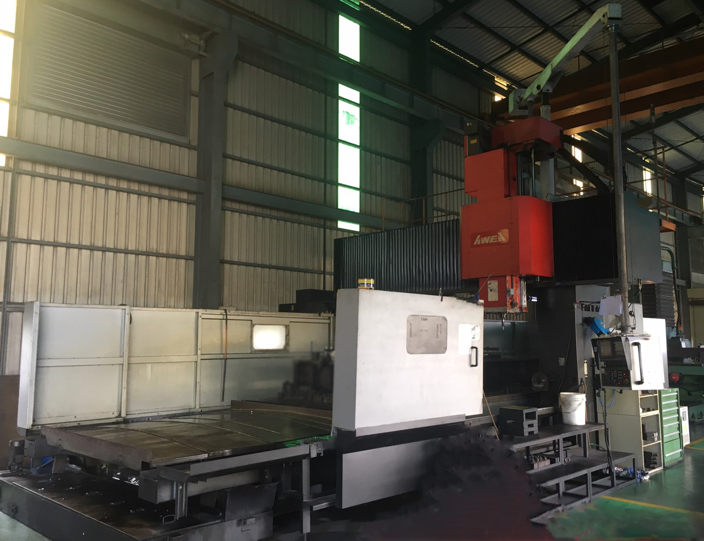 AWEA LP-4025YZ CNC DOUBLE COLUMN MACHINING CENTER