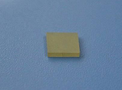 Barium titanate (BaTiO3) crystal