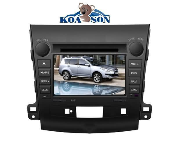 Citroen Crosser Car DVD Player with 7-Inch Touch Screen/Cabnus/TMC(optional)/DTV(optional)/Radio(RDS