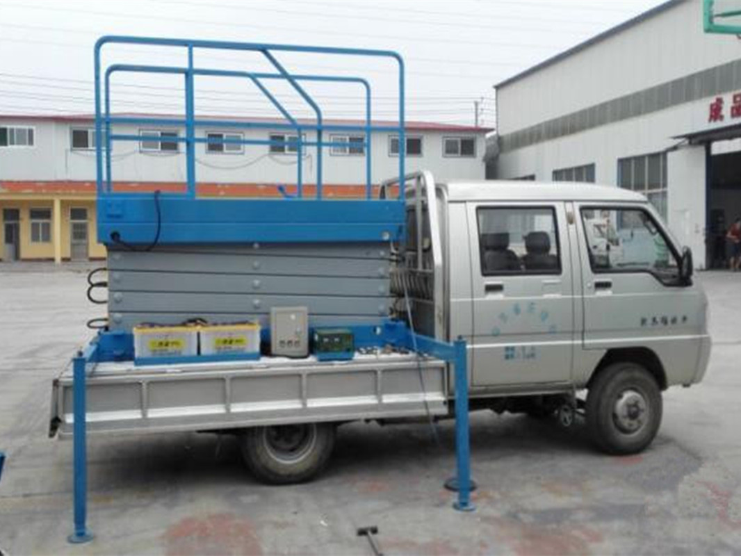 truck mounted lift table