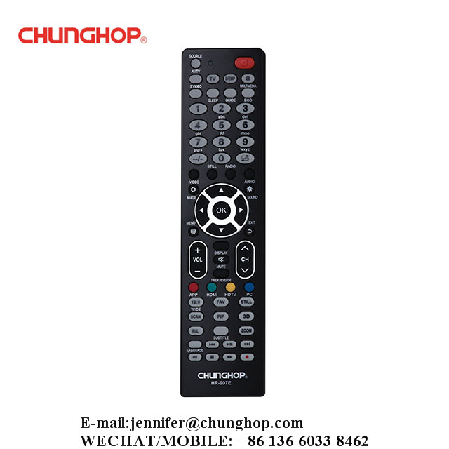Chunghop HR-907E Single Brand TV Remote Controller Replacement For Hisense Brand