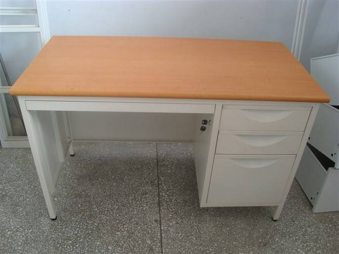 Steel office furniture desk commercial table with 3 drawer